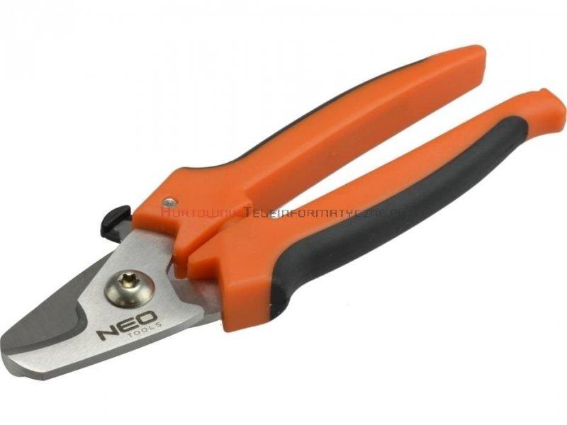 Szczypce boczne tnące 185mm - nożyce do kabli fi 13mm