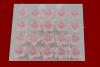 Lilijka różowa - dekoracja cukrowa 20 szt.