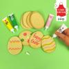 Pisak cukrowy do dekoracji tortu ciastek 19g POMARAŃCZOWY - nowa wersja!