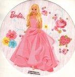 Kardasis - opłatek na tort okrągły Barbie na łące
