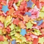 Posypka dekoracyjna confetti gwiazdki kolorowe