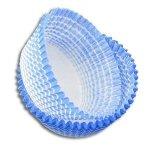 Papilotki foremki na muffinki 35mm niebieskie 100szt