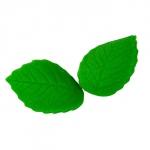 Listki cukrowe duże 20 szt - zielone