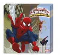 SERWETKI 33x33cm ULTIMATE SPIDERMAN