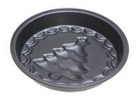 Forma aluminiowa z choinką na świąteczną babkę