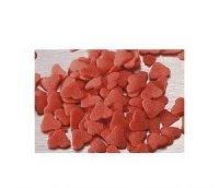 Posypka dekoracyjna confetti serduszka czerwone 1 kg