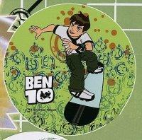 Kardasis - opłatek na tort okrągły BEN 10 Deskorolka