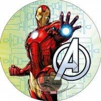 Modecor - opłatek na tort Avengers - Iron Man 2