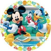 Modecor - opłatek na tort Myszka Minnie i Kaczor Donald