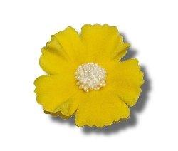 Chaber żółty 5 szt. dekoracja cukrowa