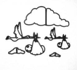 Patchwork Baby - wycinarka zestaw niemowlaka