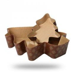 Forma papierowa do pieczenia ciasta CHOINKA duża - 5szt