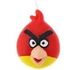 Świeczka urodzinowa Angry Birds Red
