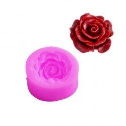 Forma silikonowa do masy cukrowej kwiat RÓŻA na tort