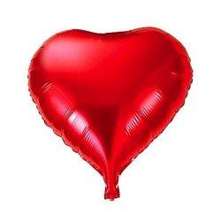 Balon foliowy - serce - czerwone 32