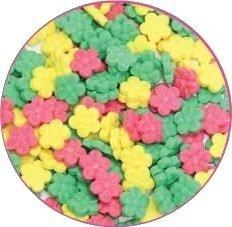Cukrowa posypka dekoracyjna confetti kwiatki stokrotki 15g