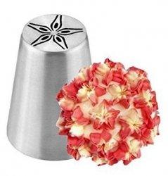 Tylka cukiernicza rosyjska stal nierdzewna BNO28 kwiat
