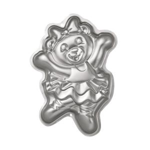 Forma aluminiowa do pieczenia - MIŚ BALETNICA - Wilton