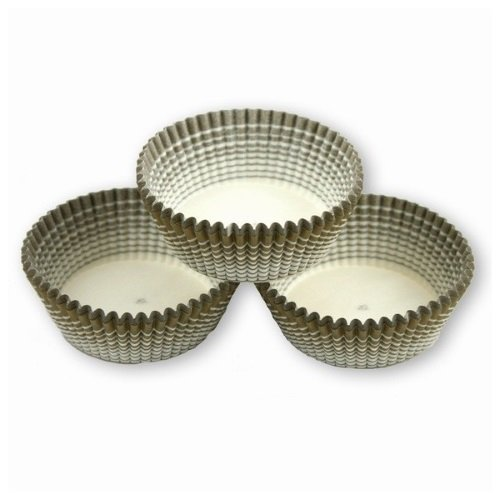 Papilotki foremki na muffinki 35mm oliwkowe 100szt
