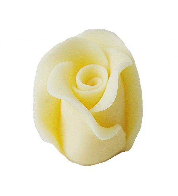 Róże cukrowe DUŻE 22szt ecru