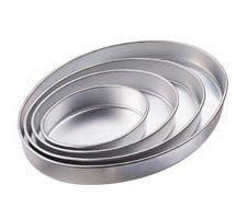 Wilton - Oval - Zestaw form aluminiowych owalnych