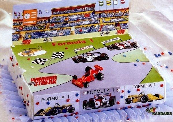 Kardasis - zestaw do dekoracji tortu F1 + opłatek