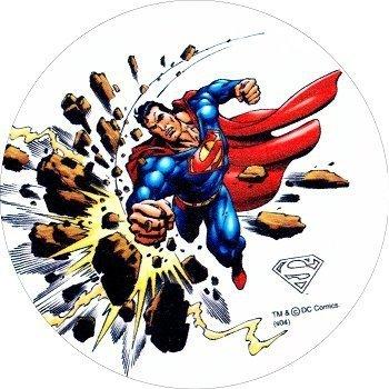 Kardasis - opłatek na tort okrągły Superman