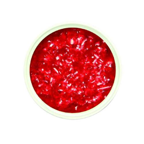 Posypka BROKAT jadalny w płatkach na tort ciastka 7g czerwony