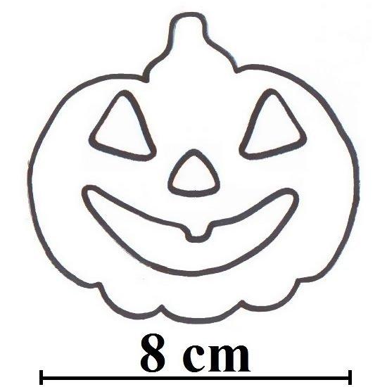 Wykrawacz FOREMKA do ciastek pierników DYNIA na HALLOWEEN 8cm
