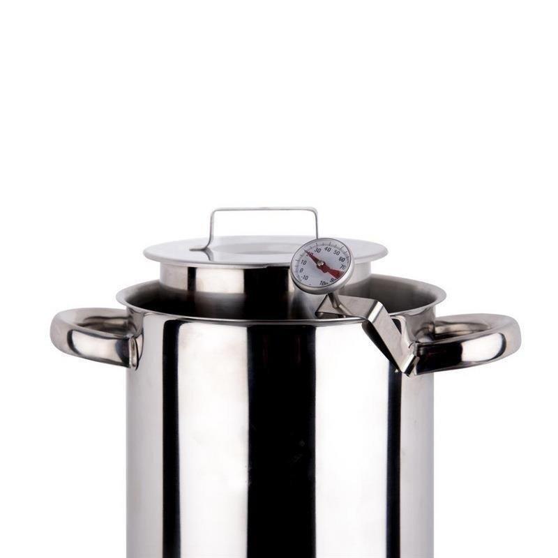 Termometr kuchenny cukierniczy z klipsem 14cm