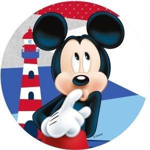 Modecor - opłatek na tort Myszka Mickey nad morzem