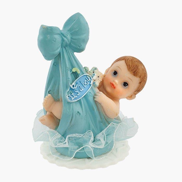 Hokus - Bobas w kokardzie - niebieski