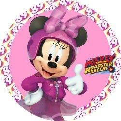 Modecor - opłatek na tort Myszka Mickey na wyścigach D