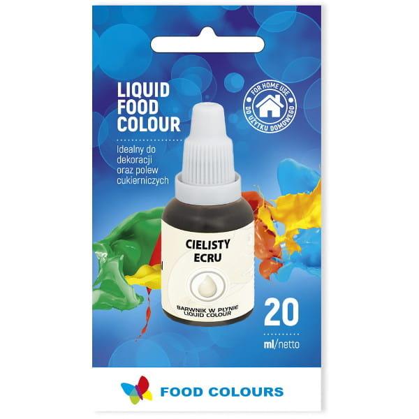 Barwnik spożywczy w płynie ECRU 20ml - Food Colours