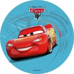 Modecor - opłatek na tort Auta - The Cars A
