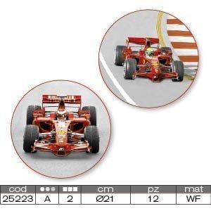 Modecor - opłatek na tort okrągły Ferrari I