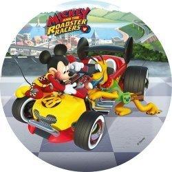 Modecor - opłatek na tort Myszka Mickey na wyścigach C