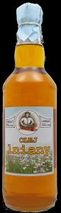 olej lniany 500 ml bity tradycyjnie szkło