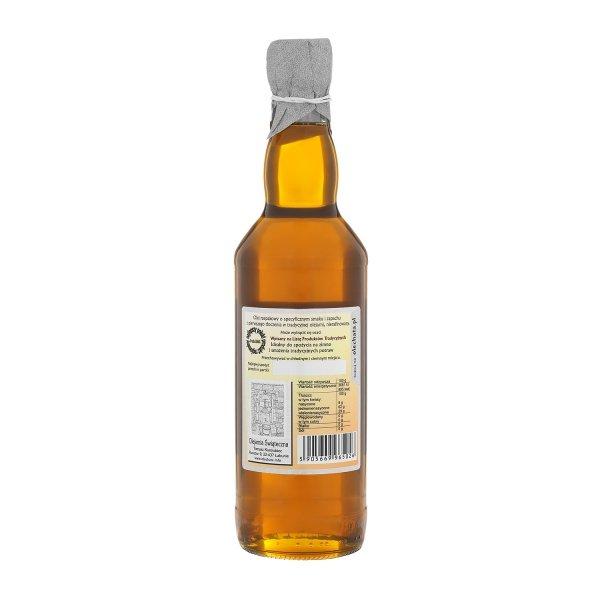 Olej świąteczny roztoczański 500 ml  bity tradycyjnie - tył.
