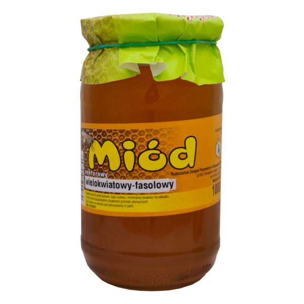 miód wielokwiatowy -fasolowy 1000 g