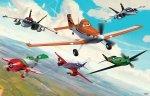 Fototapeta dla dzieci - Disney Planes - 3D - Walltastic