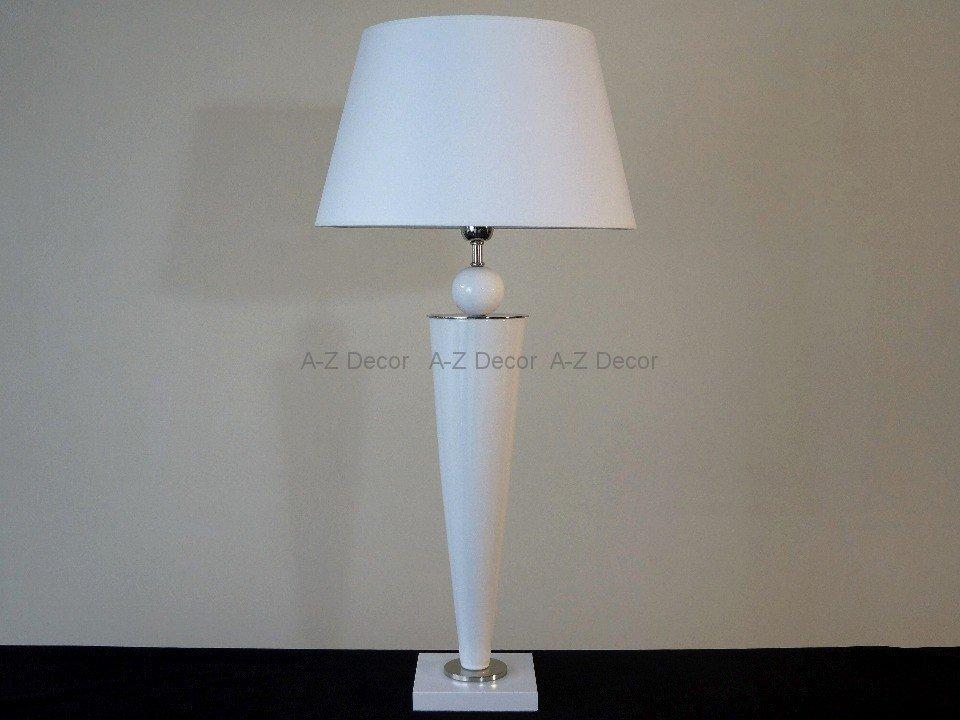Lampa Stołowa Biała Charmy Lampy Dekoracyjne Sklep Decoart24