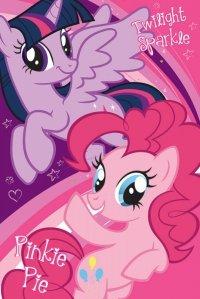 Plakat dla dziecka - My Little Pony Twilight Sparkle i Pinkie Pie - 61x91,5 cm