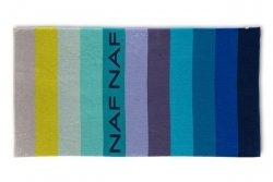 Ręcznik plażowy NAF NAF 90x180cm - wzór Balboa niebieski