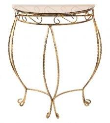 Stolik szklany - Półokrągły ½ - 8 Kolorów