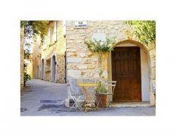 Mougins Village, France. - reprodukcja