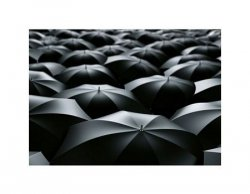 sea of umbrellas - reprodukcja