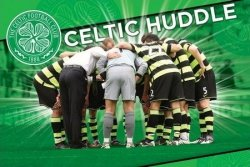 Celtic (Huddle) - plakat