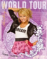 Hannah Montana (world tour) - plakat