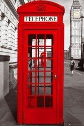 Londyn (Budka telefoniczna) - plakat